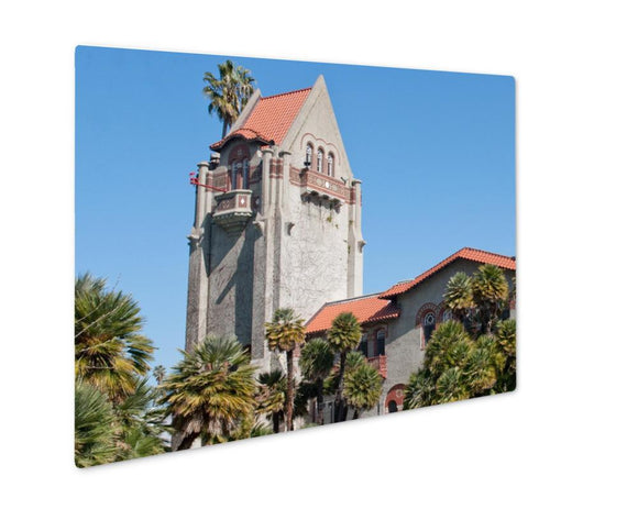 Metal Panel Print, Tower At San Jose State University - Metal Panel Print - Payabee Home Goods
