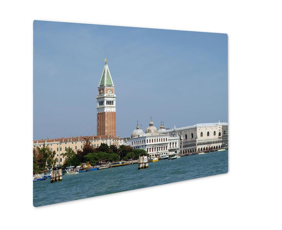 Metal Panel Print, Seaview Of Piazzettsan Marco And Doges Palace Venice - Metal Panel Print - Payabee Home Goods