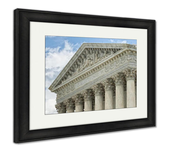 Framed Print, Washington Dc Supreme Court Facade - Framed Print - Payabee Home Goods