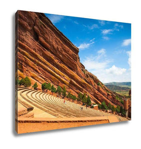 Gallery Wrapped Canvas, Red Rocks Amphitheater - Gallery Wrapped Canvas - Payabee Home Goods