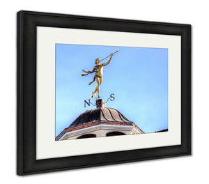 Framed Print, The Weather Vane - Framed Print - Payabee Home Goods