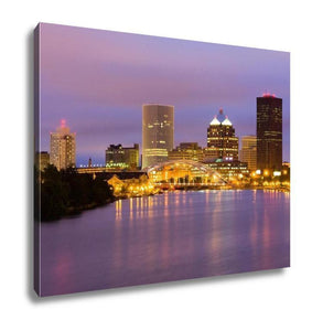 Gallery Wrapped Canvas, Rochester New York State - Gallery Wrapped Canvas - Payabee Home Goods