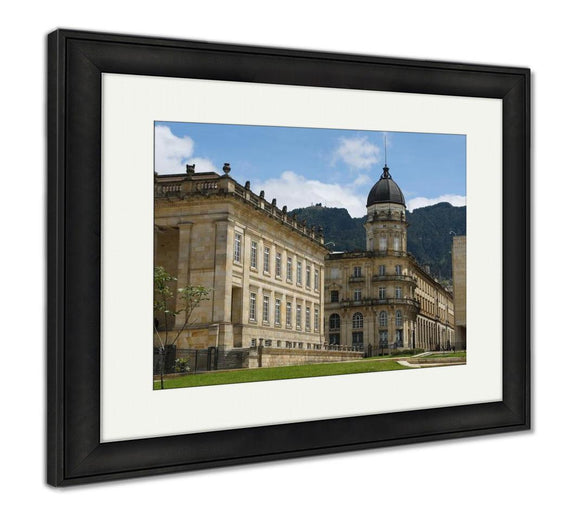 Framed Print, National Capitol Bogota Colombia - Framed Print - Payabee Home Goods