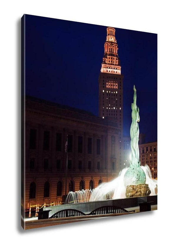 Gallery Wrapped Canvas, Landmarks Of Cleveland - Gallery Wrapped Canvas - Payabee Home Goods