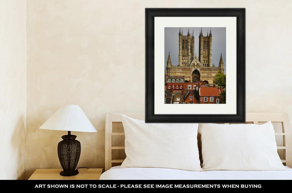 Framed Print, Lincoln Cathedral Lincoln Lincolnshire England - Framed Print - Payabee Home Goods