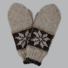 Load image into Gallery viewer, Beige Hand Knitted Gloves For Him