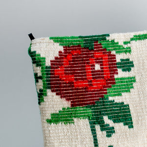 Kilim Clutch - Roses Are Red