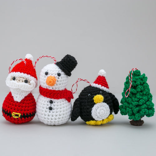 Christmas Tree Crochet Decoration