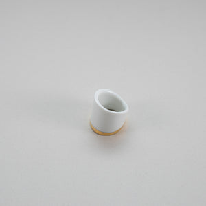 Porcelain Ring Gold L