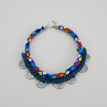 Load image into Gallery viewer, Ethnic Beaded Necklace