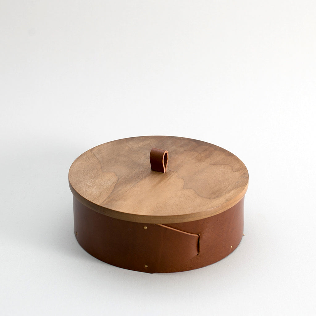 Walnut Beret Box