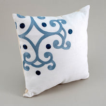 Load image into Gallery viewer, Blue Fragment Pillow
