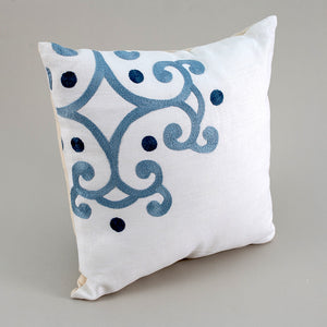 Blue Fragment Pillow
