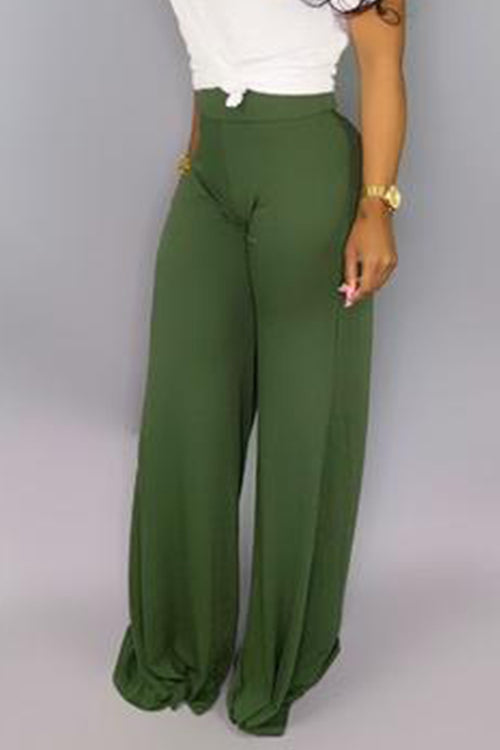 Mercidress Casual High Waist Pants
