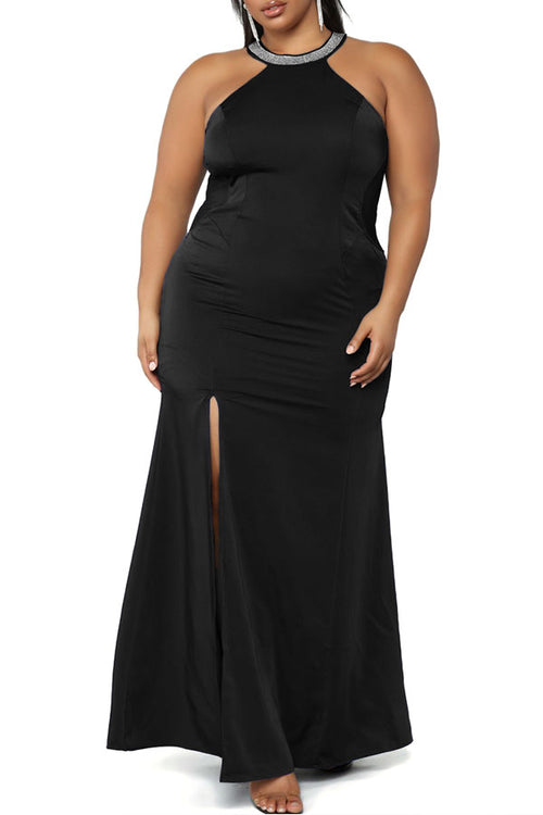 Mercidress Casual Hollow-out Floor Length Dress