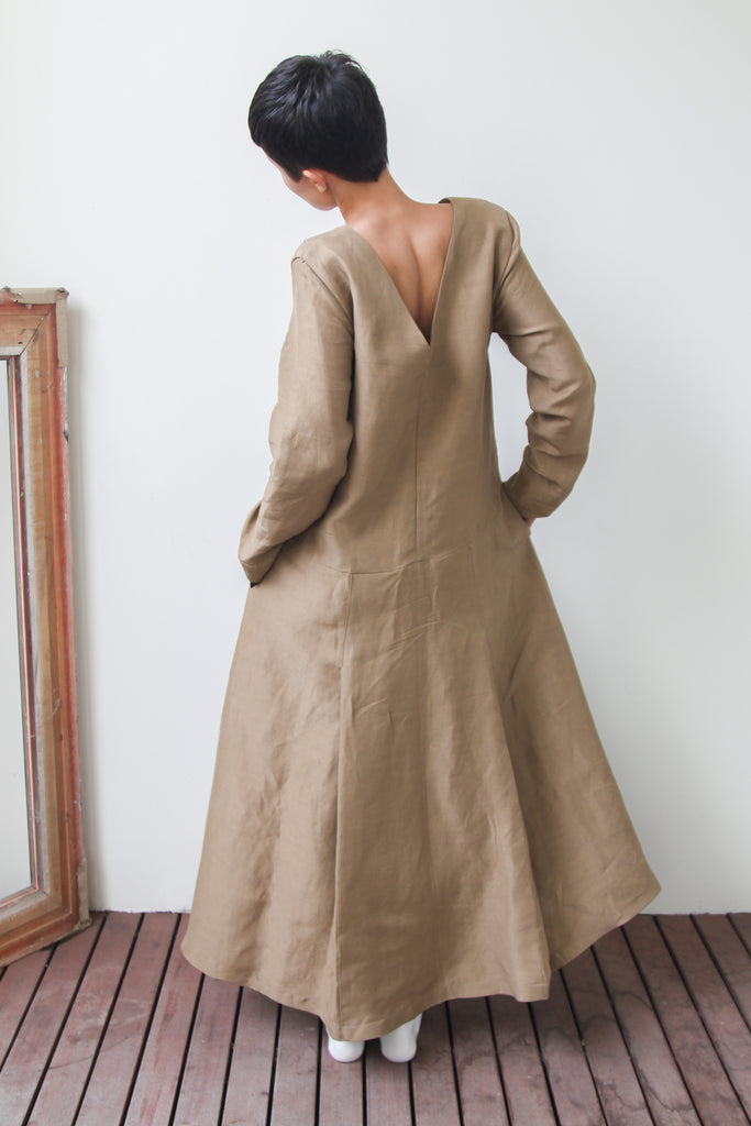 tokai dress | caramel