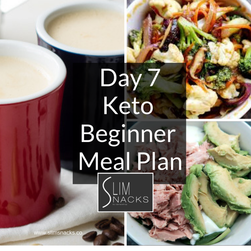 Day 7 Keto Beginners Meal Plan