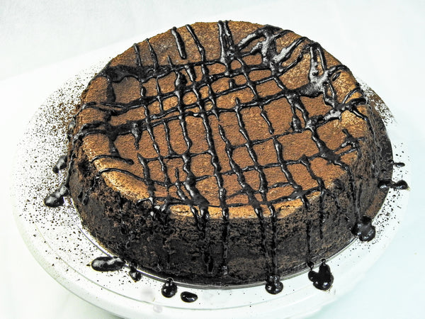 Maida's Crowd Favorite Gluten-Free Flourless Dark Chocolate Cake