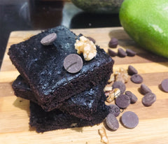 Dark Chocolate Avocado and Sweet Potato Brownies - Slim Snacks Philippines