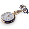Blue Enamel Fob Watch