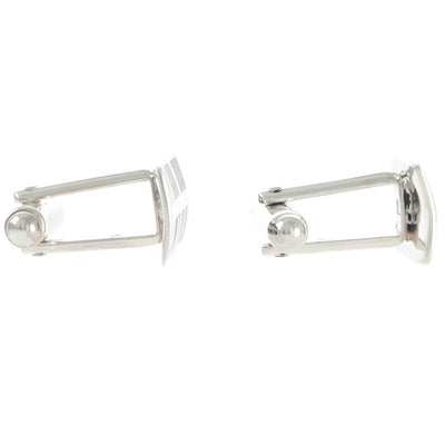 Rectangular Enamel Cufflinks