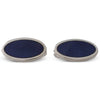 Purple Enamelled Cufflinks