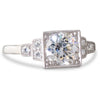 A Diamond Solitaire Style Ring