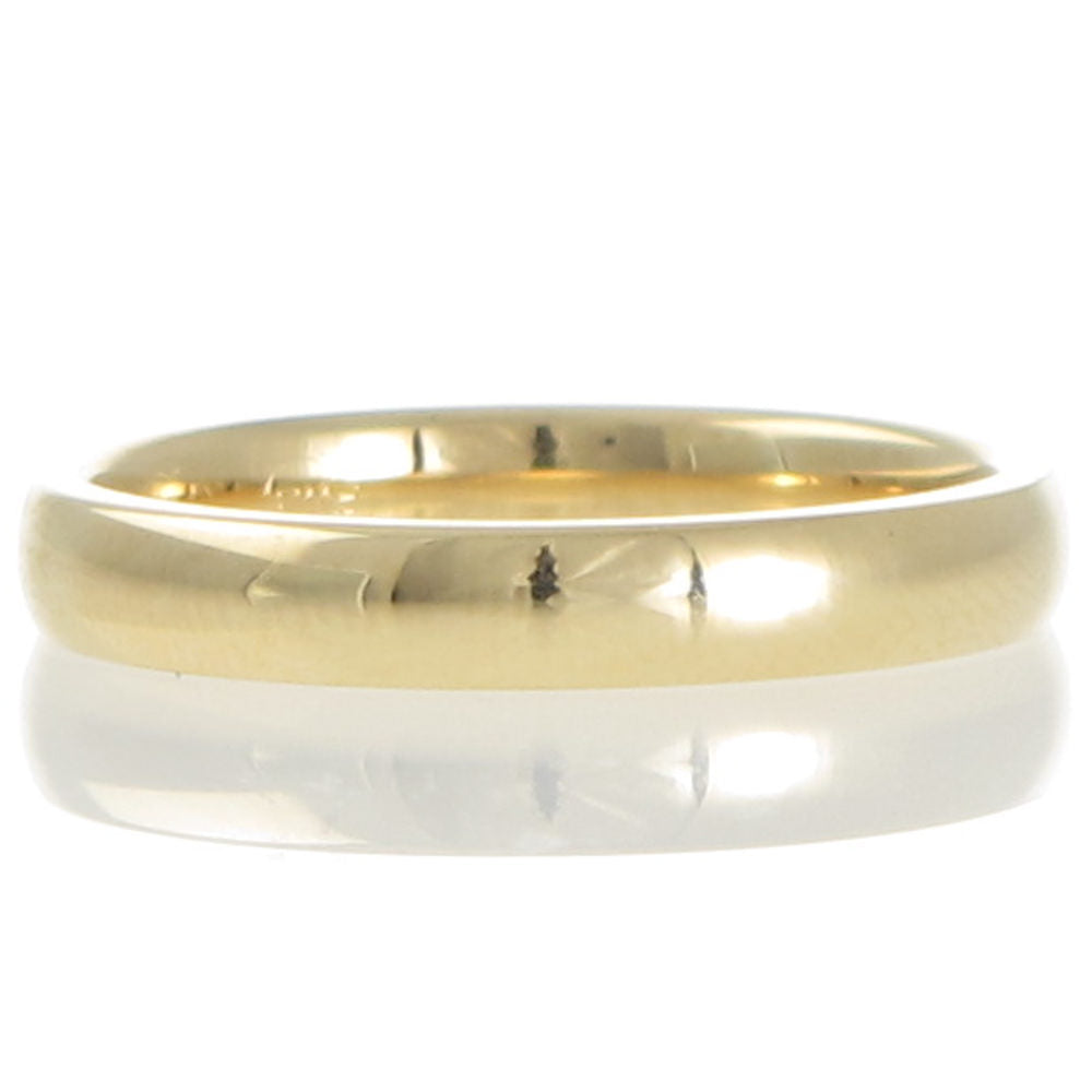 Yellow Gold 3mm Comfort Wedder