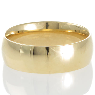 Yellow Gold 7mm Comfort Wedder
