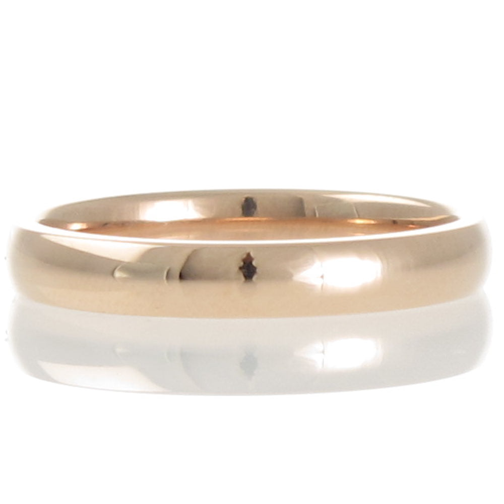Rose Gold 3mm Comfort Wedder
