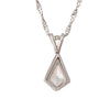 Kite Shaped Diamond Pendant