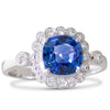 1.39ct Sapphire and Diamond Ring