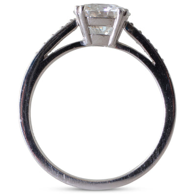 A 1.30ct Solitaire Diamond Ring