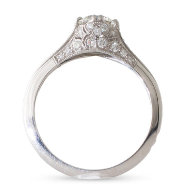 A 0.74ct Sebastien Barier Ring