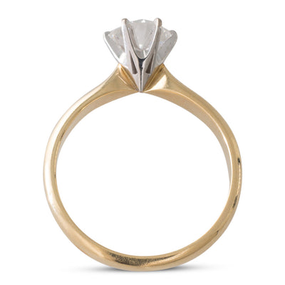 A 1.01ct Old Cut Diamond Solitaire