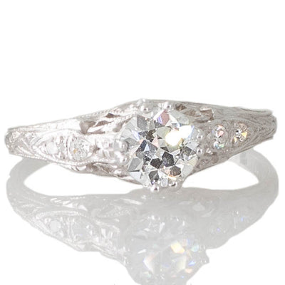 Art Deco Diamond Solitaire