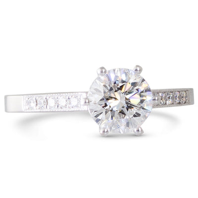 A 1.03ct Diamond Solitaire Ring