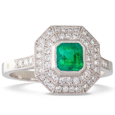 An Emerald Ring by Sebastien Barier