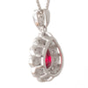 1.01ct Unheated Ruby Pendant