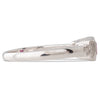 Square Cut Ruby & Diamond Ring