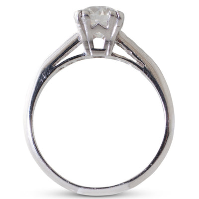 1.02ct Old Cut Diamond Ring