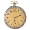 Silver Pocket Watch with Box