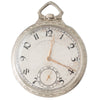 Antique White Gold Pocket Watch