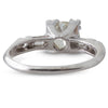 A Platinum & Diamond Ring