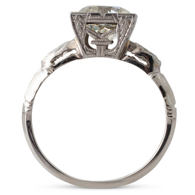 2.07ct Old European Cut Ring