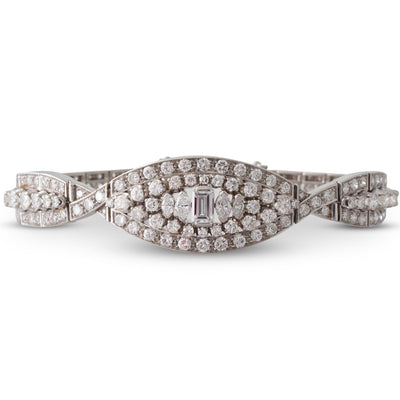 Elaborate Diamond Bracelet