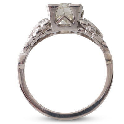 1.52ct Old European Cut Ring