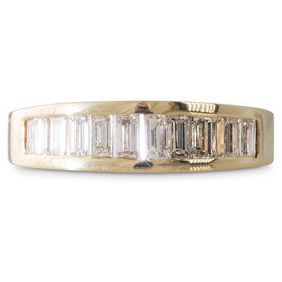 A Diamond Baguette Band