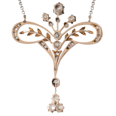 Antique Diamond Necklet