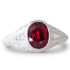 1.32ct Ruby and Diamond Ring